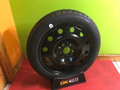 Compact Spare Wheel And Tire Fit: 2018-2019 Toyota C-Hr Chr