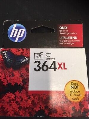 HP Ink Cartridge 364XL Black - Sealed and Boxed