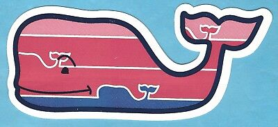 ****Authentic **** Vineyard Vines USO Whale Sticker