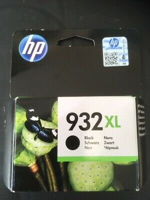 HP Ink Cartridge 932XL Black  - NEW Boxed and sealed - exp April 2020