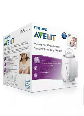 NEW Philips Avent Bottle Warmer - Compact and efficient - New In Box
