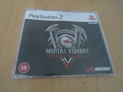 Mortal Kombat Deadly Alliance - Promo Version PlayStation 2 PS2 PAL mint