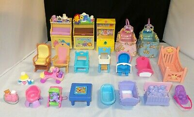 Fisher Price Loving Family NURSERY / BABY FURNITURE Cradles - YOU CHOOSE