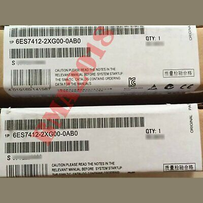 1PC Brand New in box Siemens 6ES7412-2XG00-0AB0 fast delivery