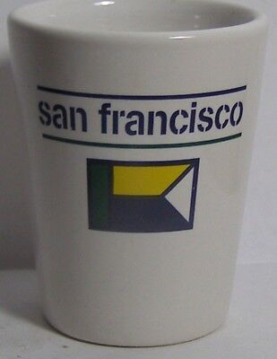 San Francisco Shot Glass #4216