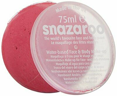 Snazaroo 75 ml Pot Body and Face Paint (Bright Pink)