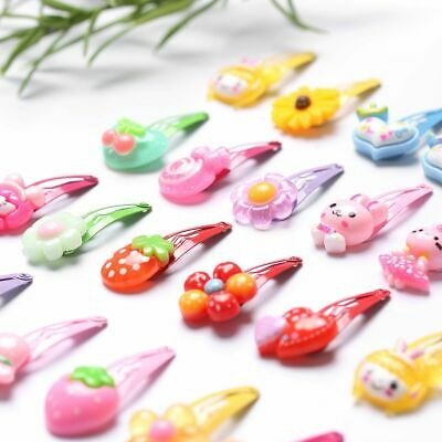 Pattern Jewelry Infant Girls Hairpins Kids Hair Clips Flower Shaped Butterfly