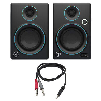 """Mackie CR3 CR Series 3"""" Creative Reference Multimedia Monitors (Pair) w/ Cable"""