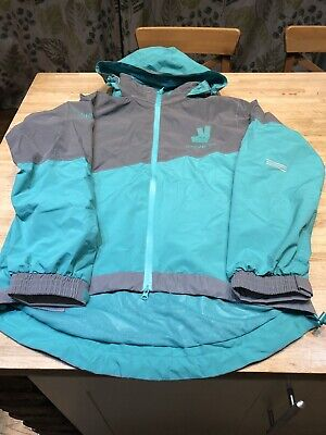 Deliveroo Waterproof Cycling Jacket  & Trousers  Reflective Size Large New