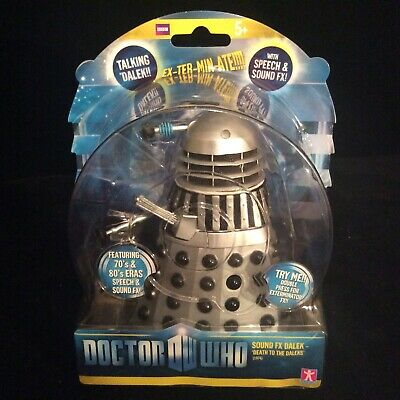 Classic Doctor Who 1974 Talking Death DALEK Sound FX Figure RARE Dr Who New Toy