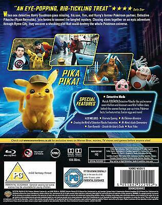 Pokémon Detective Pikachu [New Blu-ray]  FREE 1ST CLASS SHIPPING WITH TRACKING