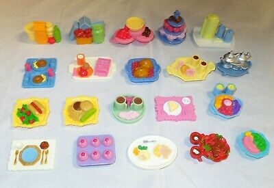 Fisher Price Loving Family FOOD, Trays, Tea, Cupcakes, Groceries - YOU CHOOSE