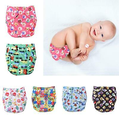 0-3Y Baby Washable Diaper Reusable Cloth Nappies Infants Training Pants Panties