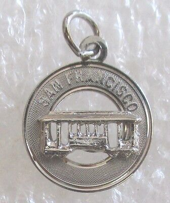 City of San Francisco, California Travel Souvenir Collector Charm-Cable Car