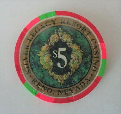 A Five Dollar Casino Chip From Silver Legacy Resort Casino Reno Nevada