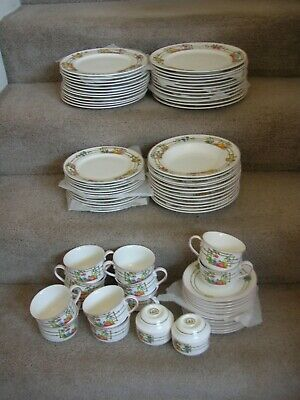 Villeroy & Boch Mon Jardin Dinnerware & Accessories 92 Pieces Serving for 12