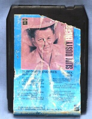 Slim Dusty 8 Track - Encore