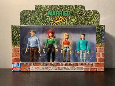 Funko ReAction Figures Married with Children NYCC 2018 Fall Convention Exclusive