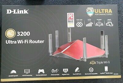 D-Link DIR-890L 1300 Mbps Gigabit Wireless AC Router