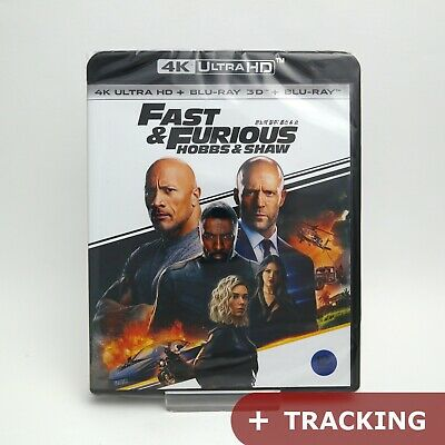 Fast And Furious Presents: Hobbs & Shaw - 4K UHD + 3D & 2D Blu-ray (2019)