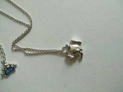 Disney couture jewellery Beauty and the Beast necklace.  Short chain.  BNWT