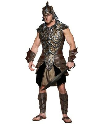 Halloween InCharacter Dragon Lord Mens Costume plus extra shield and sword