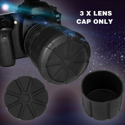 Waterproof Anti-Dust Silicone Universal Lens Cap Cover For DSLR Camera 60-110mm