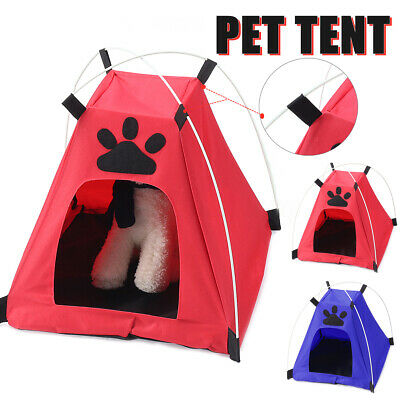 Hot Pet Tent Folding Portable Folding Cat Dog Houses Indoor Outdoor