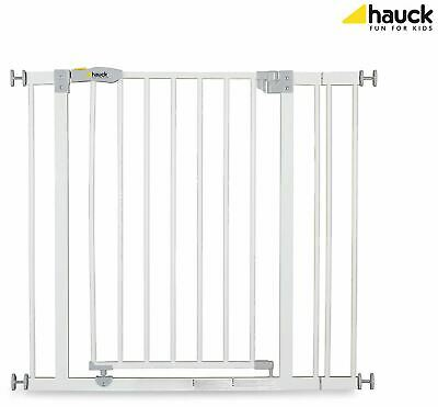 Hauck OPEN N STOP SAFETY GATE + 9CM EXTENSION WHITE Baby/Child Safety BNIP