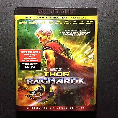 Thor Ragnarok (4K ULTRA HD/BLU RAY/NO DIGITAL)