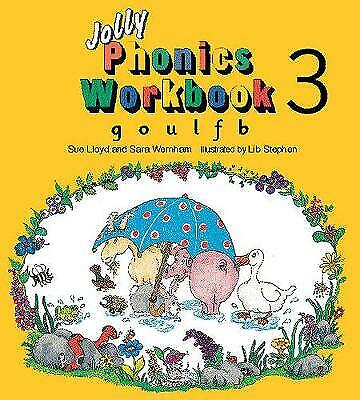 Wernham, Sara, Lloyd, Sue, Jolly Phonics Workbook 3: in Precursive Letters (BE):