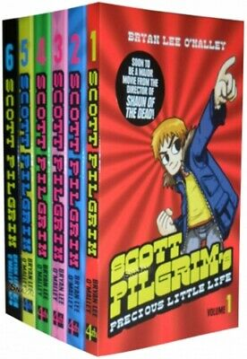 Scott Pilgrim 6 Books Collection Set Bryan Lee OMalley