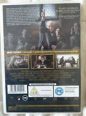Darkest Hour (DVD, 2017)DVD * DARKEST HOUR * WINSTON CHURCHILL * GARY OLDMAN DVD
