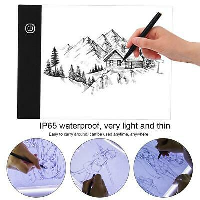 A5TY-P LED Through Drawing Tablet Writing Board Digital Animation Copy Pad Board