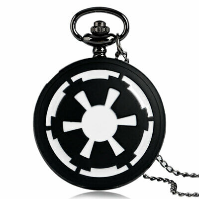 Mens Women Full Hunter Chain Necklace Star Wars Galactic Empire Badge Gifts
