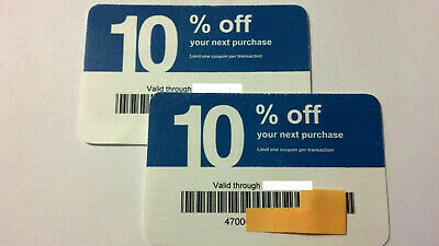 Twenty (20) Lowes 10% Competitors Coupons for Home Depot!  Expires JULY 15, 2020