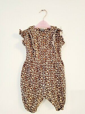 Baby Girl Jumpsuit Leopard Print baby girl outfit clothes From Next 3-6 Months