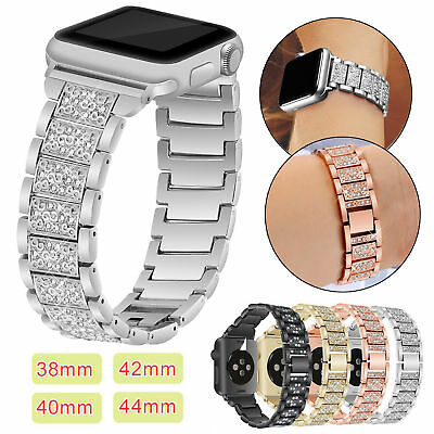 Stainless Steel Watch Band Strap for Apple iWatch 38/42mm 40/44mm Series 6 5 4 3