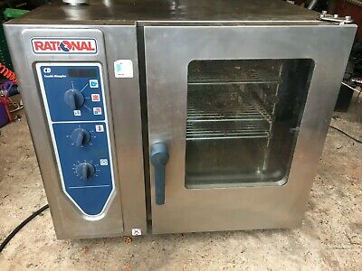 Rational Cd 3 Phase Steam Combi Oven Steamer Convection Cooker