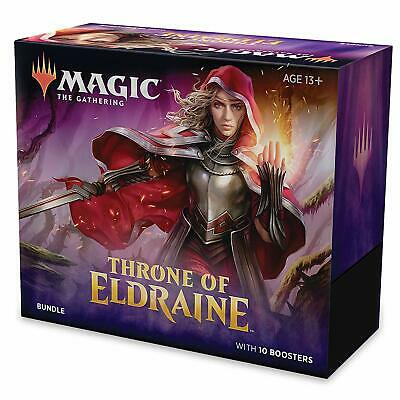 MTG Throne Of Eldraine 10 Booster Pack (150 Cards)- Brand New and Fast Delivery