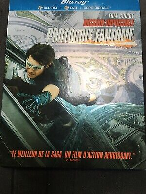 Blu-ray : MISSION IMPOSSIBLE - PROTOCOLE FANTÔME [ Tom Cruise ]