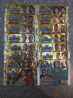 Match Attax 2019/20 UEFA Champions League / Europa league. New. Limited Edition