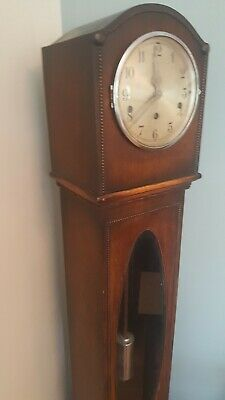Vintage Granddaughter Clock - British Made  With Key - Chimes