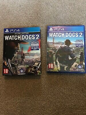Watch Dogs 2: Deluxe Edition (PlayStation 4, 2016)