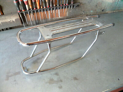 Neuf Porte Bagage Chrome Peugeot 103 Mvl Mv Vs Sp