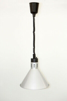 Hecmac Connie Adjustable Heat Lamp Silver