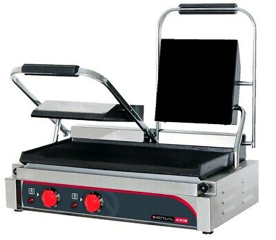 Anvil Panini Press Double Flat Top Flat Bottom Panini Presses & Sandwich Grills