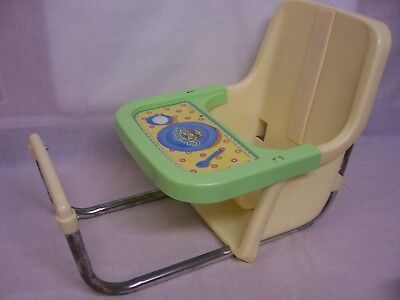 Vintage Cabbage Patch Kids 1983 Table Mate Chair Adjustable,Sticker Intact