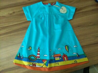 Little Bird Dress Jools Oliver 18-24 Months Bnwt beach scene dress.