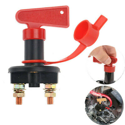 Car Truck Boat ATV 12V Battery Isolator Disconnect Cut ON/Off Power Kill Switch